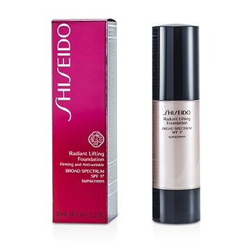 Shiseido Radiant Lifting Foundation SPF 17 - # WB40 Natural Fair Warm Beige  30ml/1.2oz