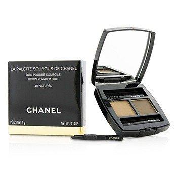 ชาแนล La Palette Sourcils De Chanel Brow Powder Duo - # 40 Naturel  4g/0.14oz