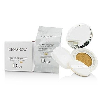 Christian Dior Bloom Perfect Brightening Perfect Moist Cushion SPF50 med ekstra påfyll - # 010  2x15g/0.5oz