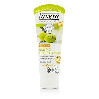 Lavera Organic Olive Oil & Camomile 2 In 1 Care Hand And Cuticle Cream 61947/107086  75ml/2.5oz