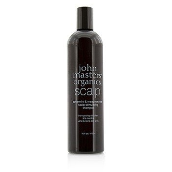 ジョンマスターオーガニック Spearmint & Meadowsweet Scalp Stimulating Shampoo  473ml/16oz