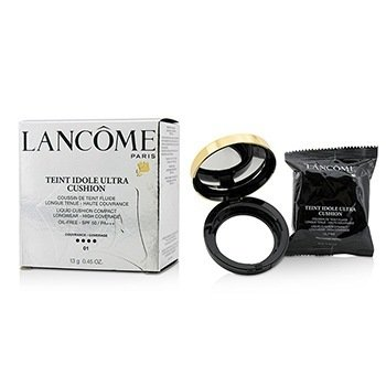 Lancome Teint Idole Ultra Cushion Liquid Cushion Compact SPF 50 - # 01 Pure Porcelaine  13g/0.45oz