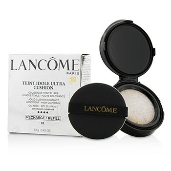 Lancome Teint Idole Ultra Cushion Жидкая Основа Кушон SPF 50 Запасной Блок - # 02 Beige Rose  13g/0.45oz