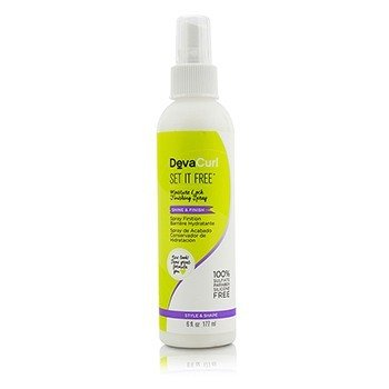 DevaCurl Set It Free (Spray de Acabado Encerrador de Humedad - Brillo & Acabado)  177ml/6oz