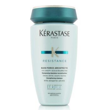 Kerastase Resistance Bain Force Architecte Strengthening Shampoo (For Brittle, Damaged Hair, Split Ends)  250ml/8.5oz