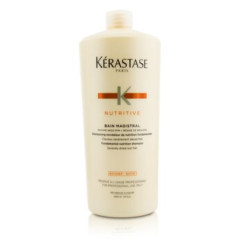 เคเรสตาส Nutritive Bain Magistral Fundamental Nutrition Shampoo (Severely Dried-Out Hair)  1000ml/33.8oz