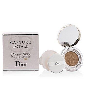 Christian Dior Capture Totale Dreamskin Cojín Piel Perfecta SPF 50 Con Repuesto Extra - # 020  2x15g/0.5oz