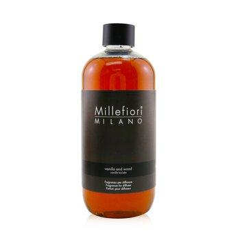 Millefiori معطر طبيعي (عبوة احتياطية) - الفانيليا والخشب  500ml/16.9oz
