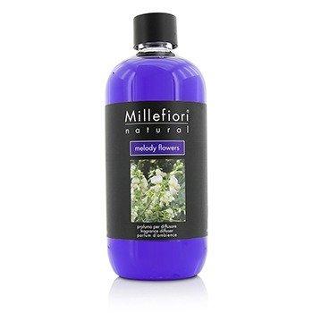 Millefiori Natural Fragrance Diffuser Refill - Melody Flowers  500ml/16.9oz