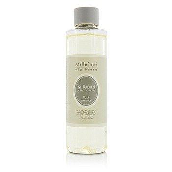 Millefiori Via Brera Fragrance Diffuser Refill - Floral Romance  250ml/8.45oz