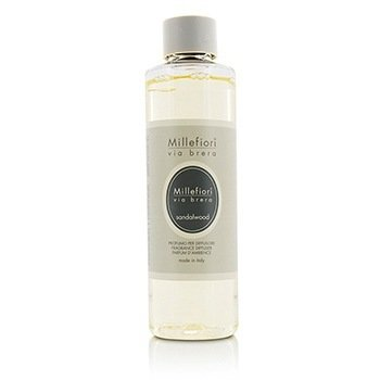 Millefiori Via Brera Fragrance Diffuser Refill - Sandalwood  250ml/8.45oz