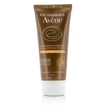 Avene Moisturizing Self-Tanning Silky Gel For Face & Body - For Sensitive Skin  100ml/3.3oz