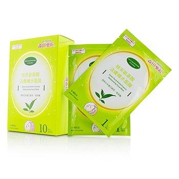 Dr. Morita Green Tea & Amino Essence Mascarilla Facial Hidratante  10pcs