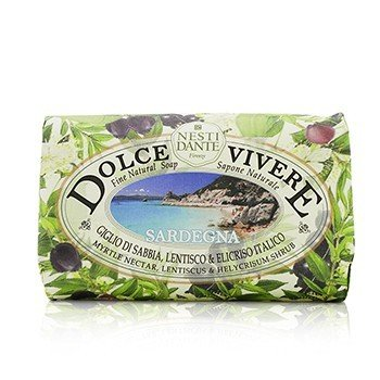 Nesti Dante Dolce Vivere Fine Natural Soap - Sardegna - Myrtle Nectar, Lentiscus & Helycrisum Shrub  250g/8.8oz