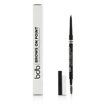 Billion Dollar Brows Brows On Point Micro Lápiz de Cejas A Prueba de Agua - Light Brown  0.045g/0.002oz