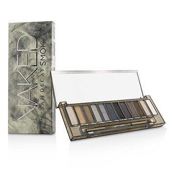 Urban Decay Naked Smoky Paleta de Sombras de Ojos (12x Sombras de Ojos, 1x Brocha de Párpados Cónica/Difuminante)
