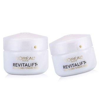 L'Oreal RevitaLift Anti-Wrinkle + Firming Eye Cream Duo Pack  2x14g/0.5oz