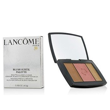 Lancome Blush Subtil Palette (3x Colours Powder Blusher) - # 385 Plum Elegance (US Verison)  4.5g/0.158oz