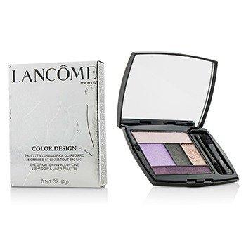 Lancome Color Design Paleta 5 Sombras & Delineadores - # 306 Lavender Grace  4g/0.141oz