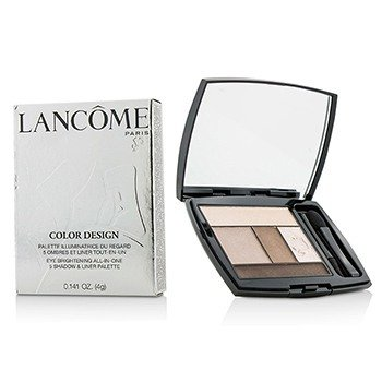 Lancome Color Design 5 Shadow & Liner Palette - # 108 Beige Brulee (US Version)  4g/0.141oz