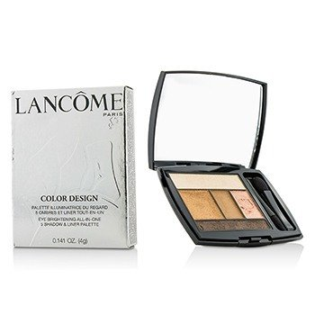 Lancôme Color Design 5 Shadow & Liner Palette - # 102 Kissed By Gold (US Version)  4g/0.141oz