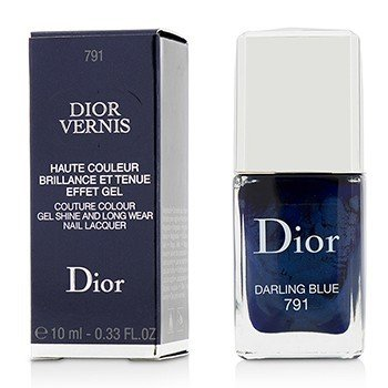 Christian Dior Dior Vernis Couture Colour Gel Shine & Long Wear Nail Lacquer - # 791 Darling Blue  10ml/0.33oz