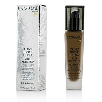 Lancome Teint Idole Ultra 24H Wear & Comfort Foundation - # 540 Suede W (US Version)  30ml/1oz