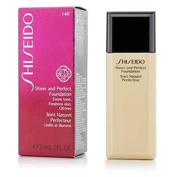Shiseido Base Pura & Perfecta - # I40 Natural Fair Ivory  30ml/1oz