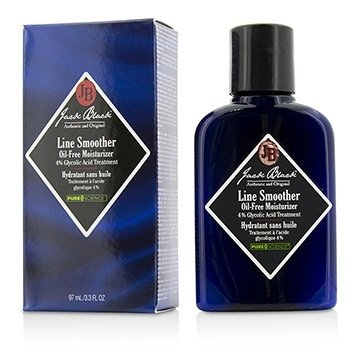 Jack Black Line Smoother Face Moisturizer (4% Glycolic Acid)  97ml/3.3oz