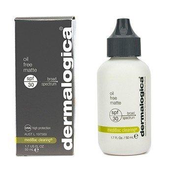 Dermalogica Beztłuszczowy krem ochronny do twarzy MediBac Clearing Oil Free Matte SPF 30 (data ważności 07/2017)  50ml/1.7oz