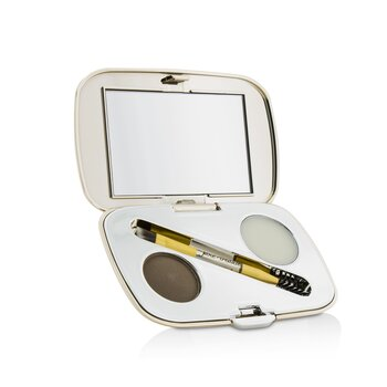 Jane Iredale GreatShape Eyebrow Kit (1x Brow Powder, 1x Brow Wax, 1x Applicator) - Brunette  2.5g/0.85oz