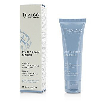 Thalgo Cold Cream Marine Deeply Nourishing Mask - for tørr, sensitiv hud  50ml/1.69oz