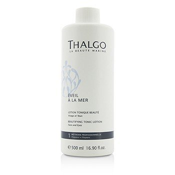 Thalgo Eveil A La Mer Beautifying Tonic Lotion (Face & Eyes) - For All Skin Types, Even Sensitive Skin (Salon Size)  500ml/16.9oz