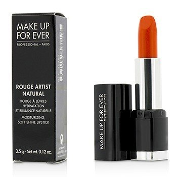 Make Up For Ever Rouge Artist Natural Soft Shine Lipstick - #N43 (Orange)  3.5g/0.12oz