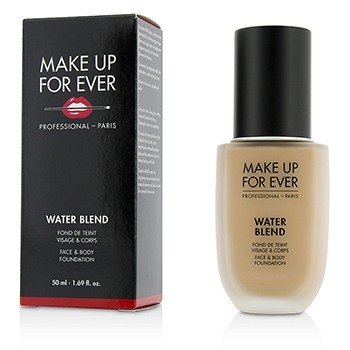 Make Up For Ever Water Blend Face & Body Foundation - # R330 (Warm Ivory)  50ml/1.69oz