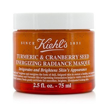Kiehl's Turmeric & Cranberry Seed Energizing Radiance Masque  75ml/2.5oz
