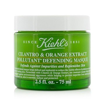 Kiehl's Cilantro & Orange Extract Pollutant Defending Masque  75ml/2.5oz