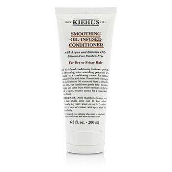 キールズ Smoothing Oil-Infused Conditioner (For Dry or Frizzy Hair)  200ml/6.8oz