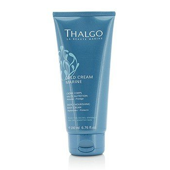 Thalgo Cold Cream Marine Deeply Nourishing Body Cream - For Very Dry, Sensitive Skin  200ml/6.76oz