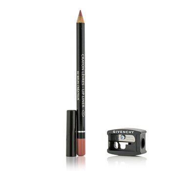 Givenchy Lip Liner (With Sharpener) - # 02 Brun Createur  1.1g/0.03oz