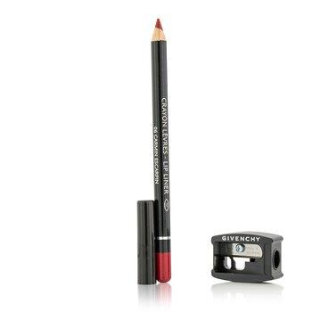 Givenchy قلم شفاه (مع مبراة) - # 06 Carmin Escarpin  1.1g/0.03oz