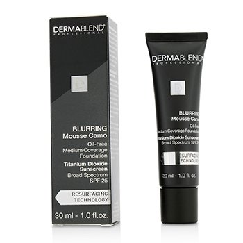 Dermablend Blurring Mousee Camo Oil Free Foundation SPF 25 (medium dekning) - #0C Ivory  30ml/1oz