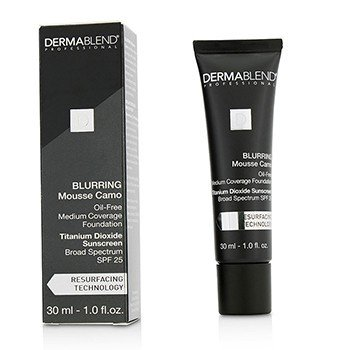 Dermablend Blurring Mousee Camo Oil Free Foundation SPF 25 (Medium Coverage) - #60W Spice  30ml/1oz