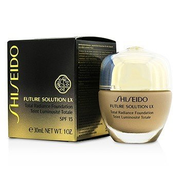 Shiseido Future Solution LX Total Base Resplandor SPF15 - #B20 Natural Light Beige  30ml/1oz