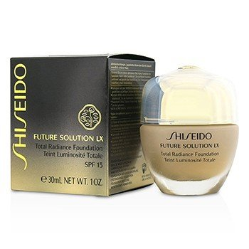 Shiseido Future Solution LX Total Base Resplandor SPF15 - #I60 Natural Deep Ivory  30ml/1oz