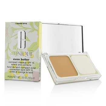 Clinique Even Better Maquillaje Compacto SPF 15 - # 02 Alabaster (VF-N)  10g/0.35oz