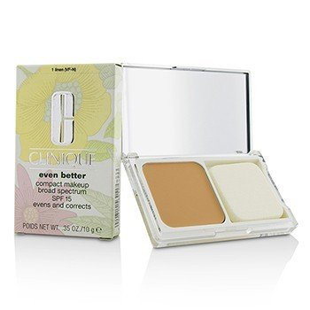 Clinique Even Better Compact Makeup SPF 15 - # 01 Linen (VF-N)  10g/0.35oz