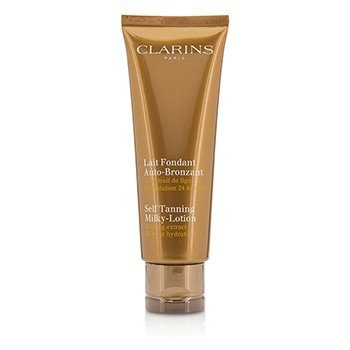 Clarins Self Tanning Milky-Lotion (Unboxed)  125ml/4.2oz