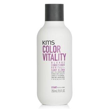 KMS California Odżywka do włosów Color Vitality Blonde Conditioner (Anti-Yellowing and Repair)  250ml/8.5oz