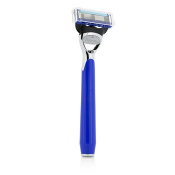 The Art Of Shaving Morris Park Collection Cuchilla de Afeitar - Royal Blue  1pc